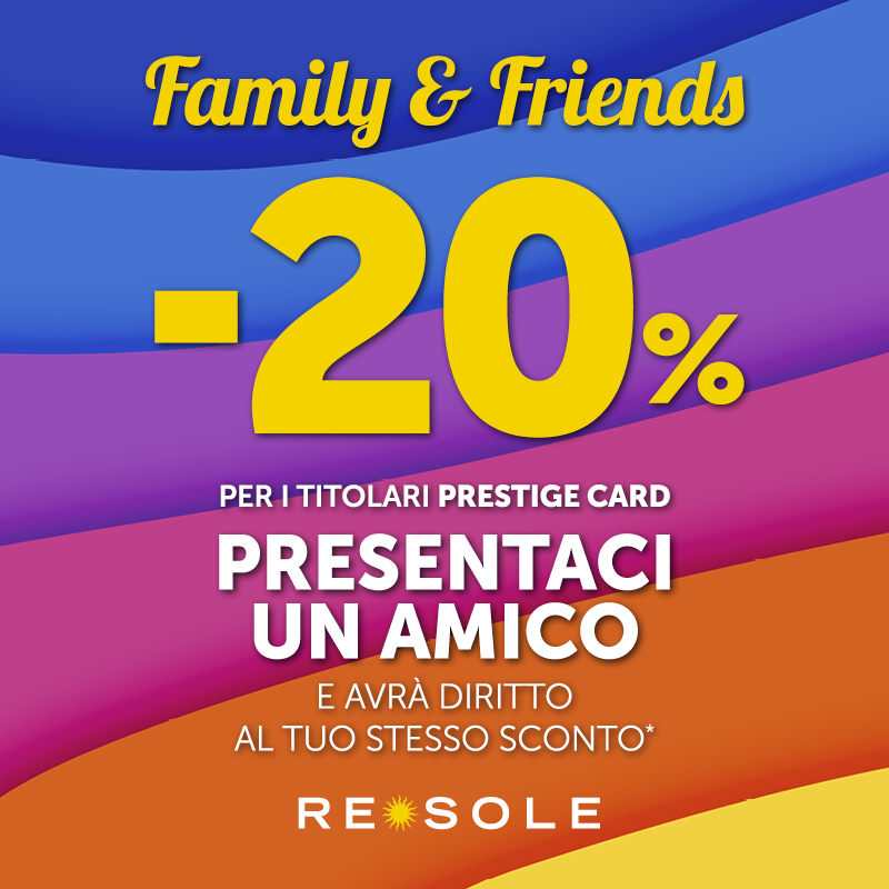 SAVE THE DATE Re Sole FAMILY&FRIENDS